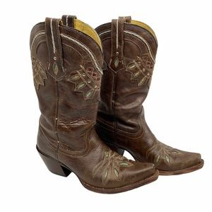 Tony Lama Guadalupe Embroidered Cowboy Boot 6015